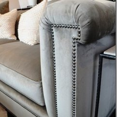 Sofa Arm Covers Gray Mart Furniture Warranty What's New Wednesday: Velvet Tufted - Heather Scott ...