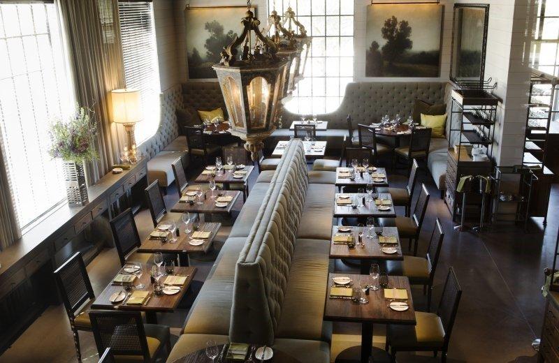 Lav Restaurant Designed By Mcalpine Baker Amp Ferrier