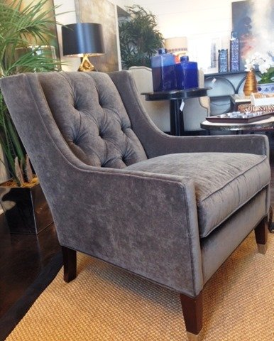 velvet tufted chair herman miller eames replica what s new wednesday chairs heather scott home design the are upholstered