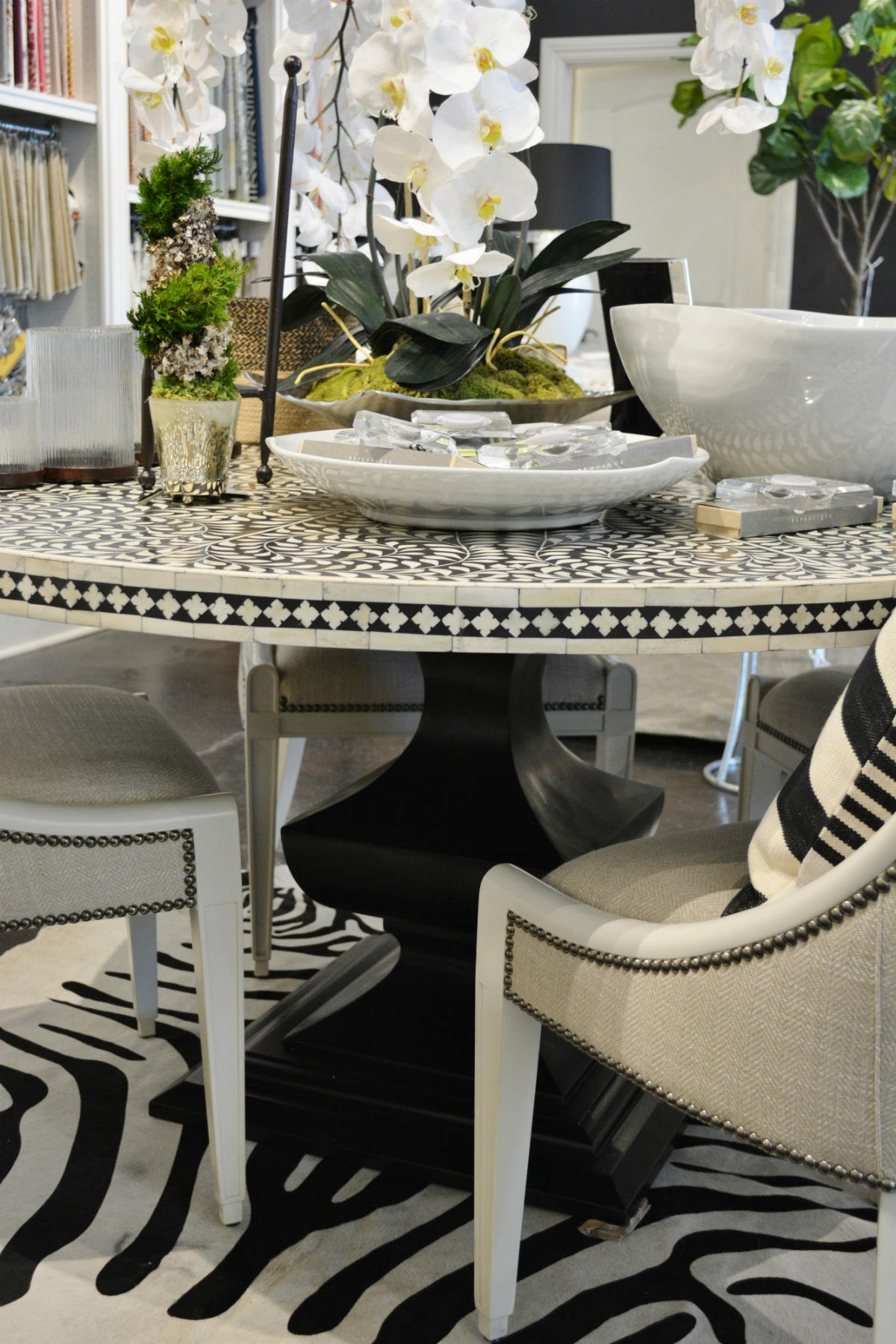 Whats New Wednesday Bone Inlay Dining Table Heather
