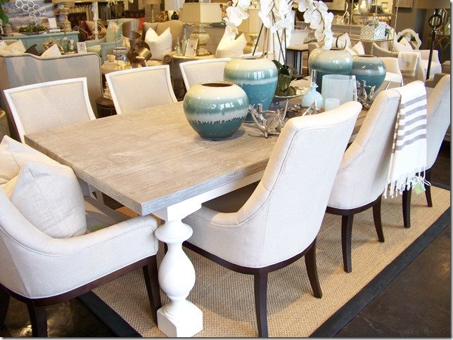 Whats New Wednesday: Grey Wash Dining Table