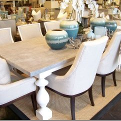 White Upholstered Chairs Accent Chair Red What's New Wednesday: Grey Wash Dining Table - Heather Scott Home & Design