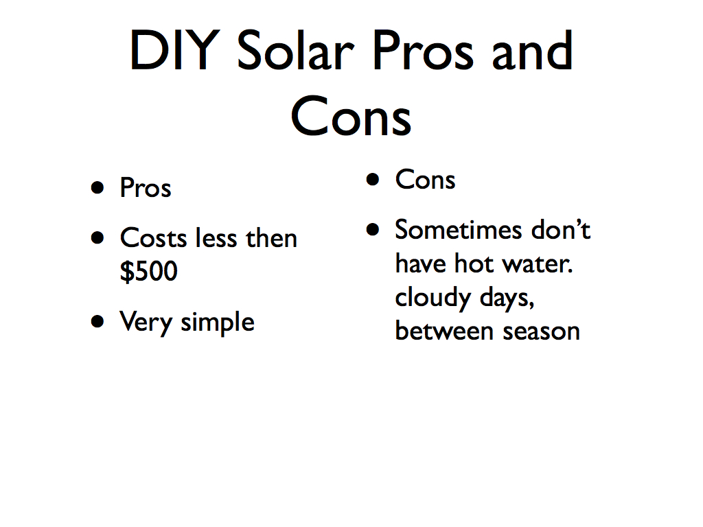 A Couple Diy Solar Thermal Ideas For You