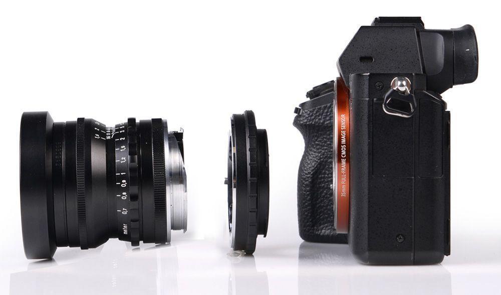 Objektive an Digitalkameras adaptieren - Heidi-Foto München !