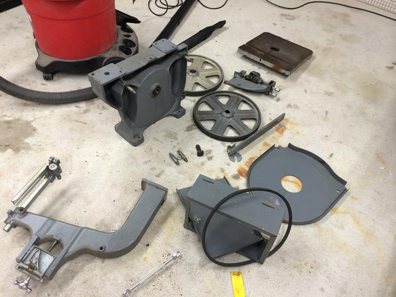 Rockwell Model 14 Bandsaw Parts