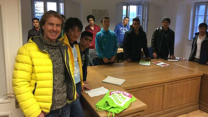 Schule für Junge Fluechtlinge
