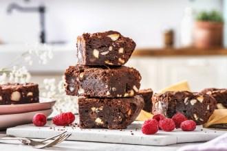 De beste brownies + 3 toppings
