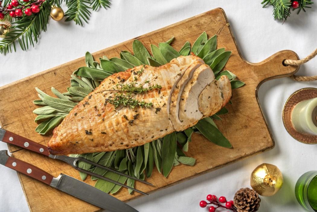 hellofresh holiday rolled turkey