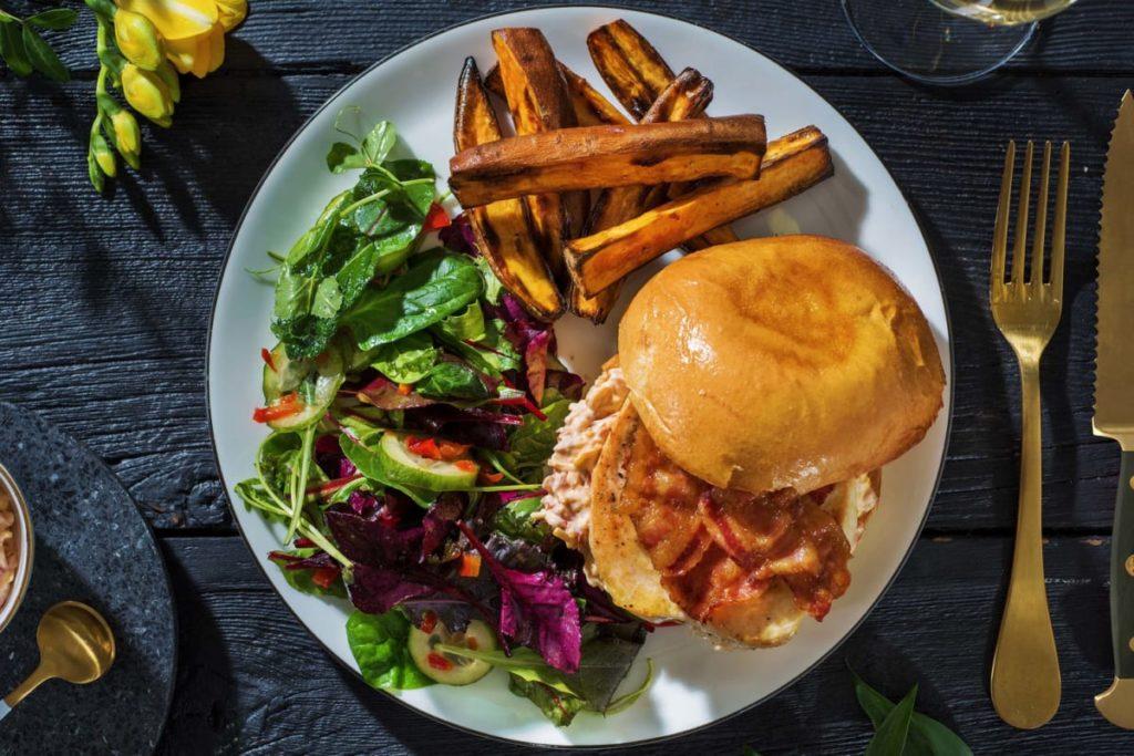 restaurant style ultimate chicken burger recipe