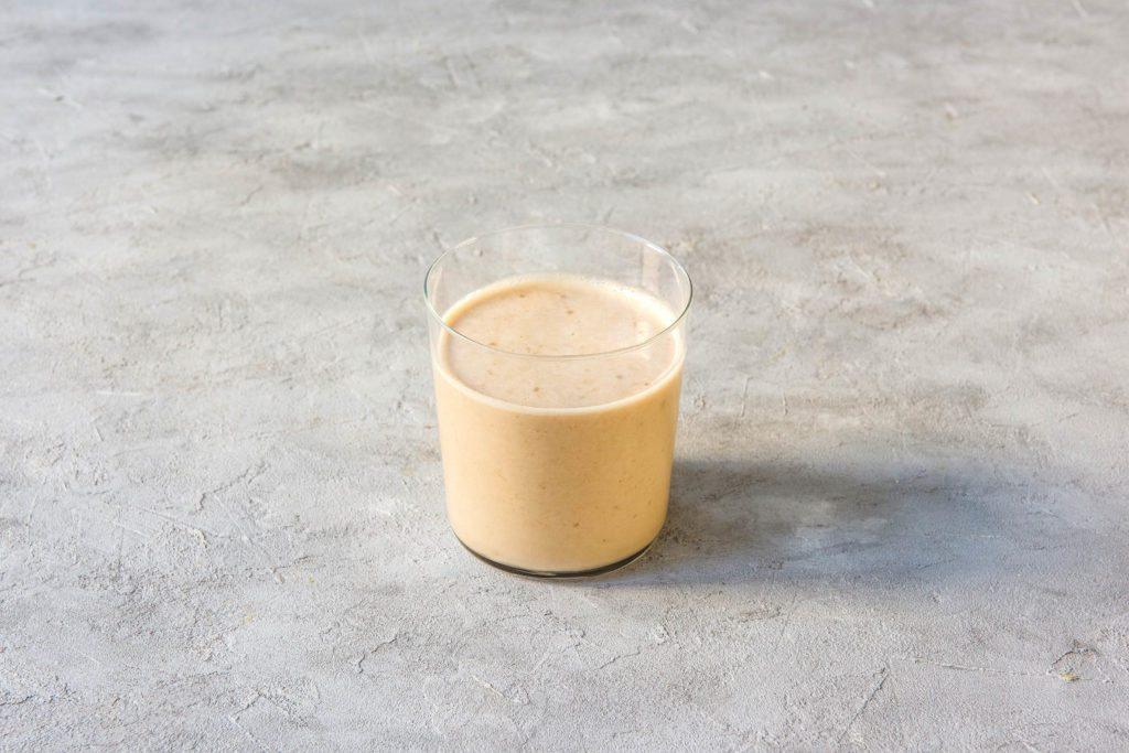 different colored tahini smoothies-white-recipe-HelloFresh