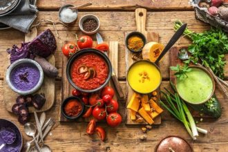 4 Colourful Vegetarian Soup Recipes