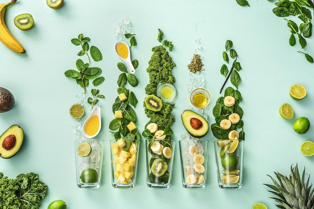 leafy greens brain food vitamins green smoothies