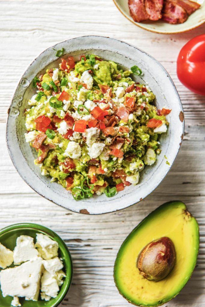 creamy avocado bacon guacamole recipes