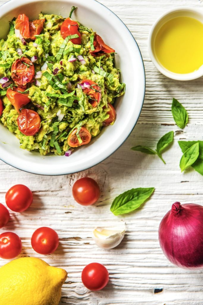 basil tomato guacamole recipe