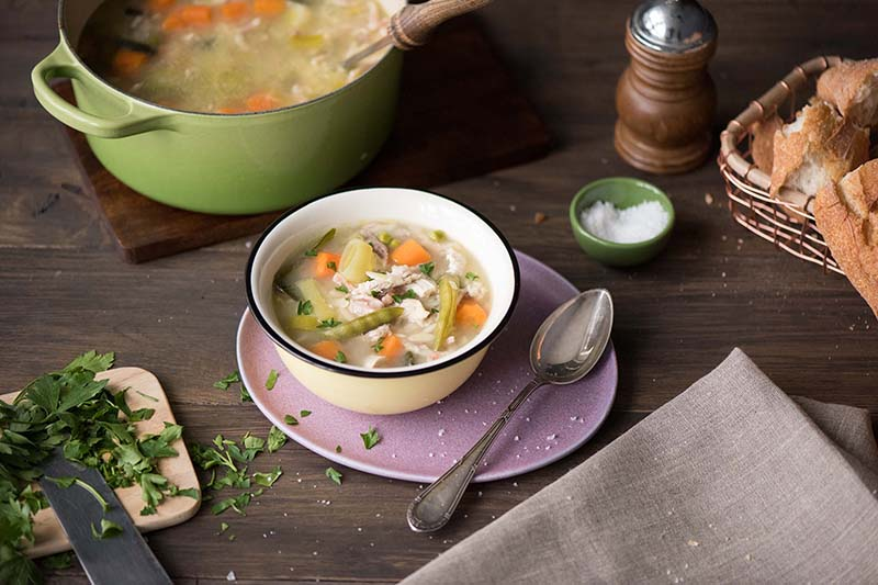 A Healthy Chicken Soup