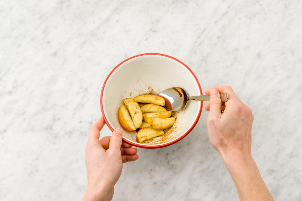 Backen ohne Mehl und Zucker: Apfel und Zimt