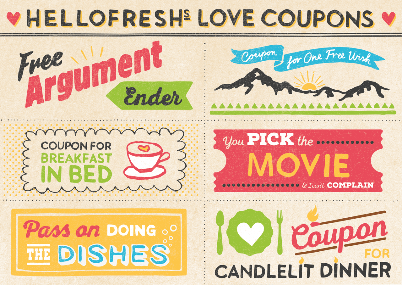Our cuter than cute printable love coupons hellofresh for Coupons for my boyfriend