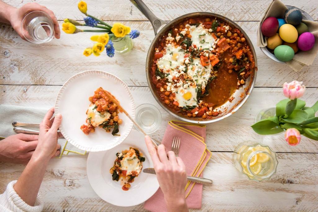 Unsere liebsten Rezepte für Ostern: Shakshuka essen
