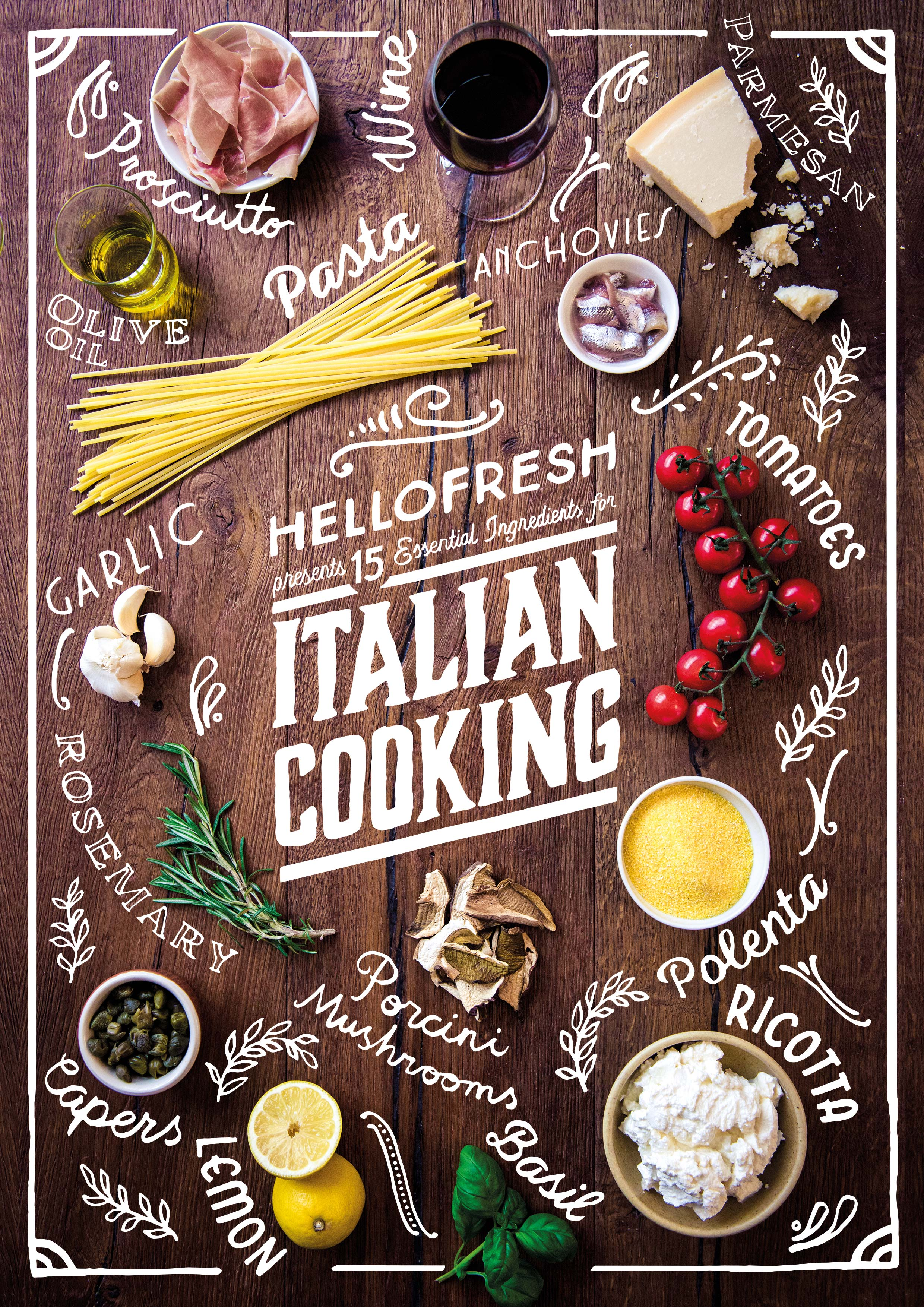15 Essential Ingredients For Italian Cooking