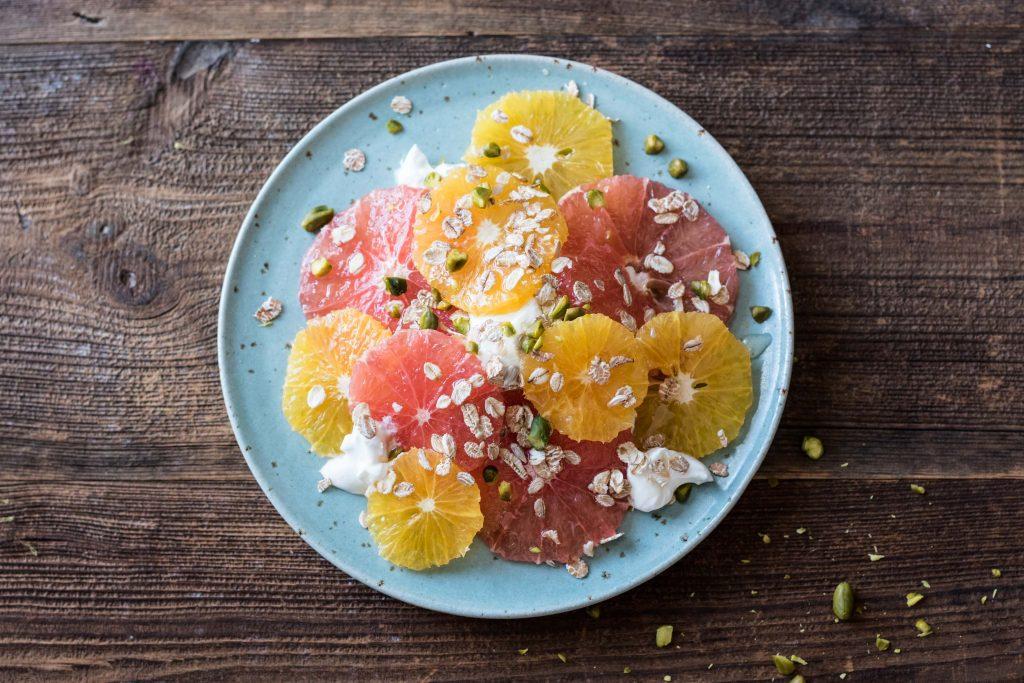 citrus salad breakfast recipe