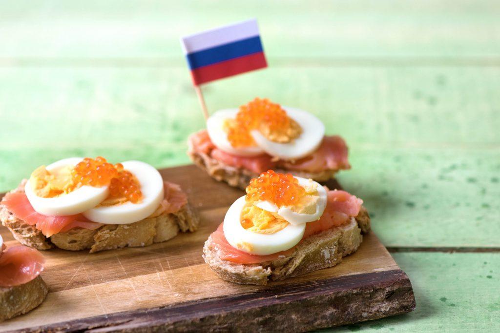 Snacks zur EM: Russland