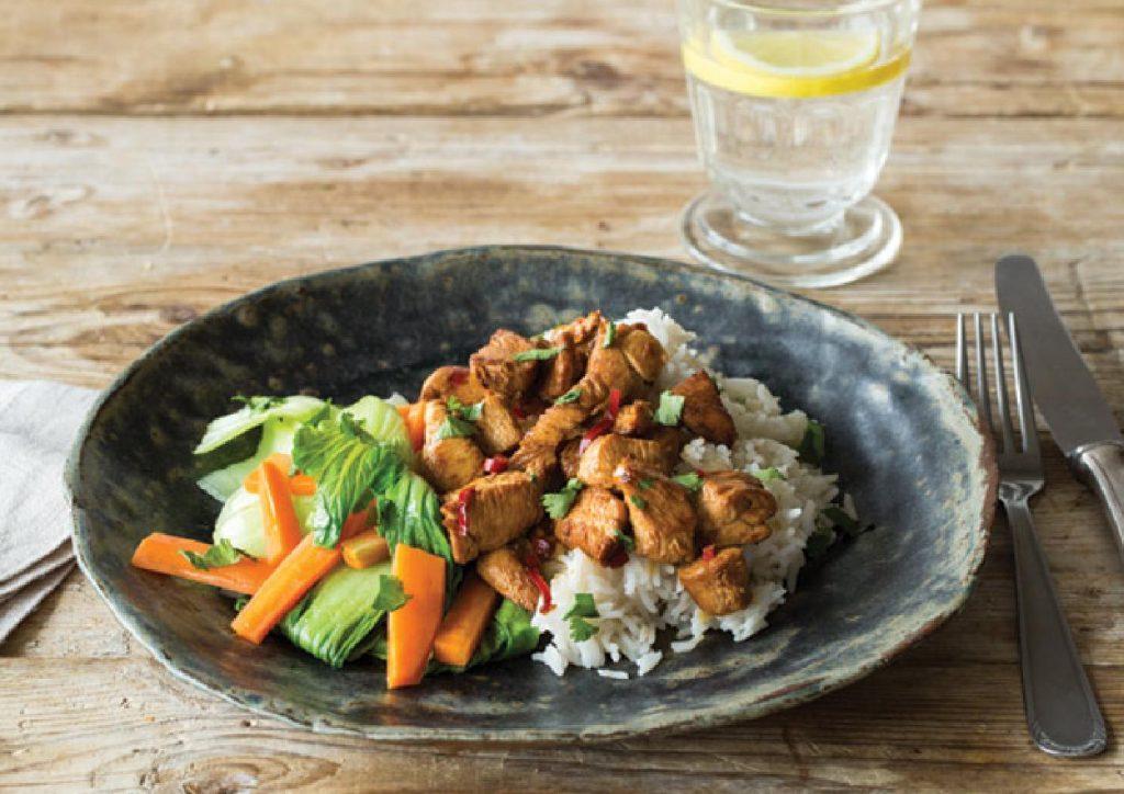 chicken and bok choi recipe