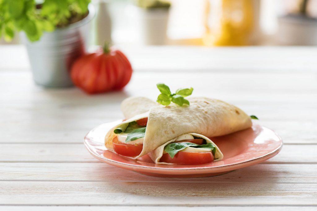 Caprese Salad Recipe-3-ways-wrap-HelloFresh