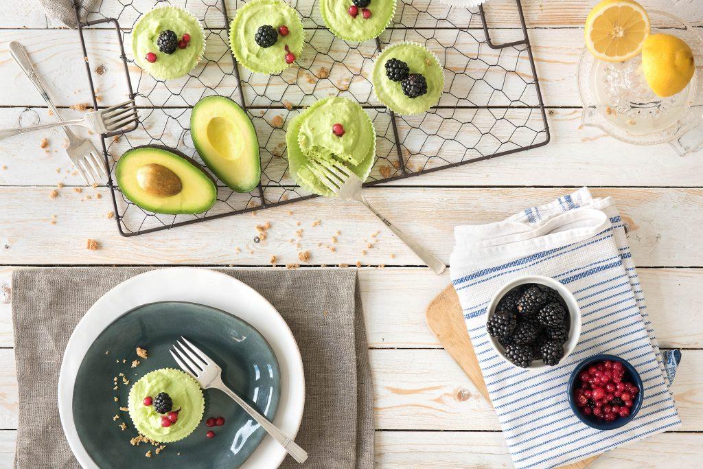 Backen ohne Backofen: Avocado Törtchen
