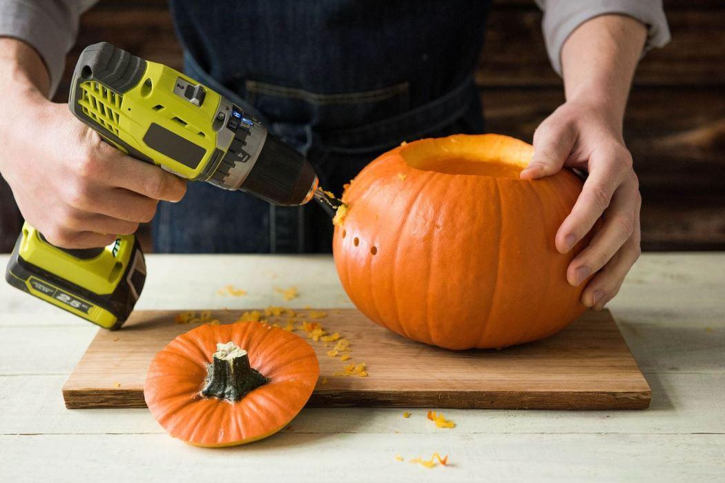 alternative Pumpkin carving