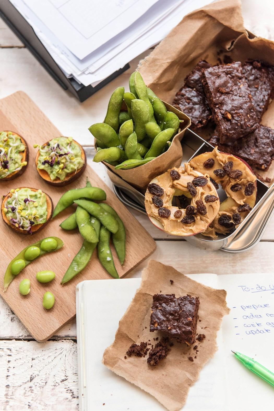 healthy work snacks