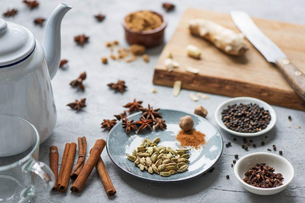 Chai Latte selber machen: Gewürze