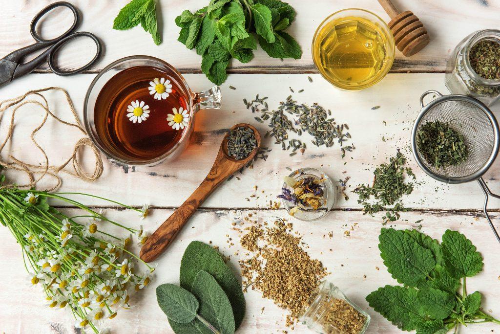 Heilende Kräuter: 7 gesunde Teesorten
