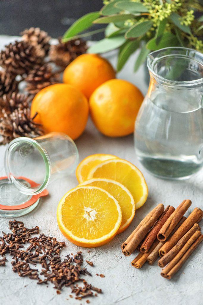 Weihnachtsduft selber machen: Orangen, Zimt, Nelken