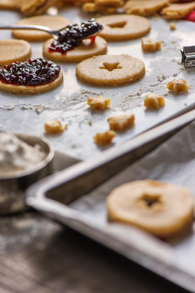 Chef Mimi S Christmas Jam Cookies Hellofresh Food Blog