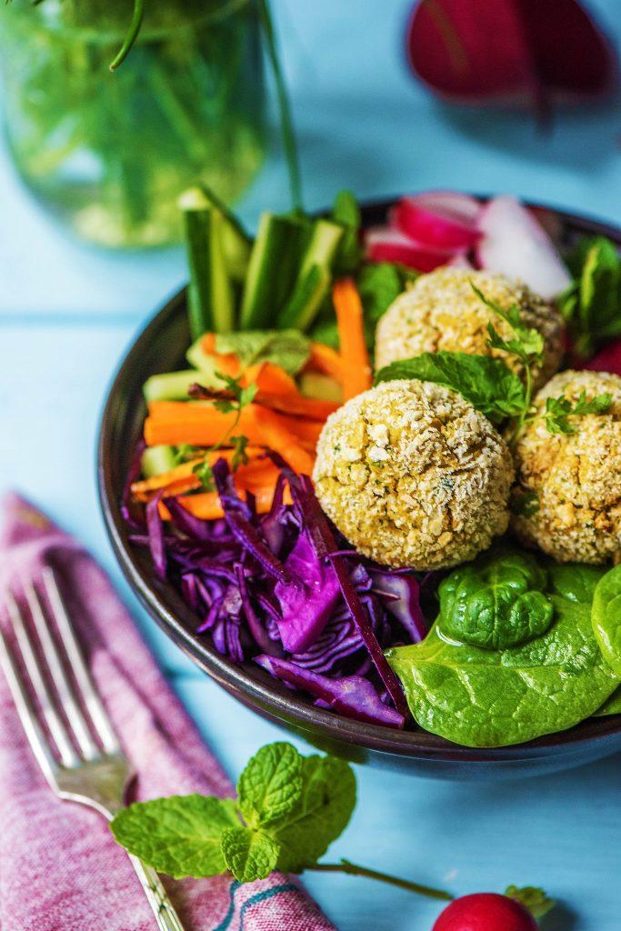 Buddha Bowl: Falafel