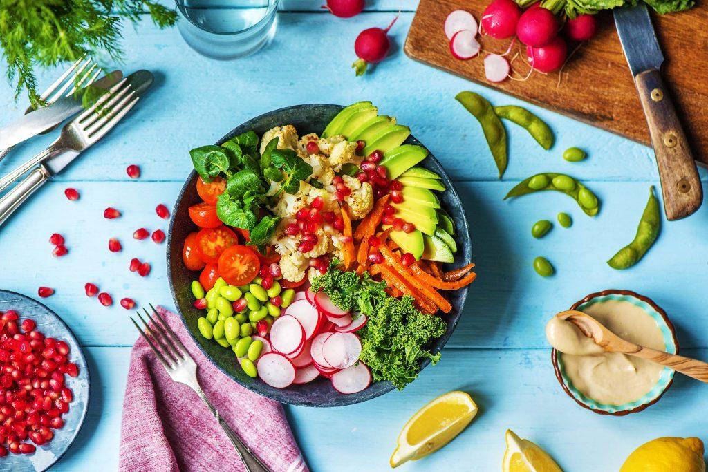 Buddha Bowl: Gemüse