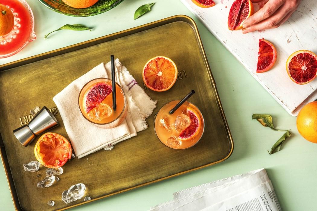 Blood Orange Gin & Tonic