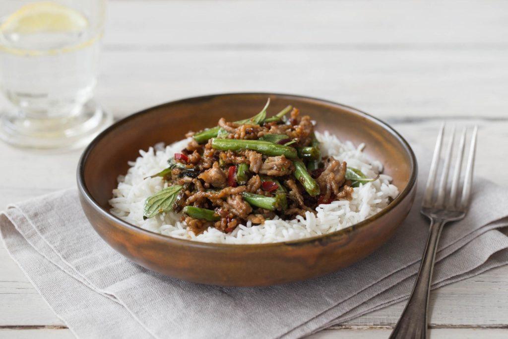 Thai 'Moo Pad Krapow' recipe