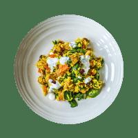 Biryani with Chicken, Craisins and Minty Yoghurt