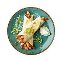 Chicken Fajitas with Pickled Chillies and Zesty Sour Cream