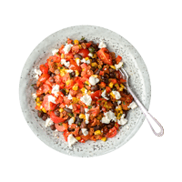 Mexican Jalapeño Jumble with Black Beans and Smoked Paprika