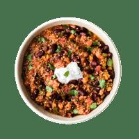 One-Pot Veg Chilli with Quinoa
