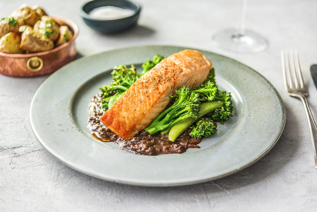 HelloFresh Baked Salmon Premium Recipe