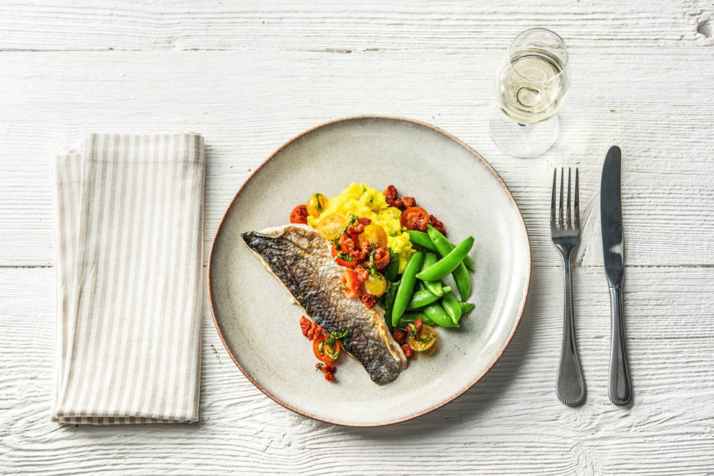HelloFresh Sea Bass Premium Recipe
