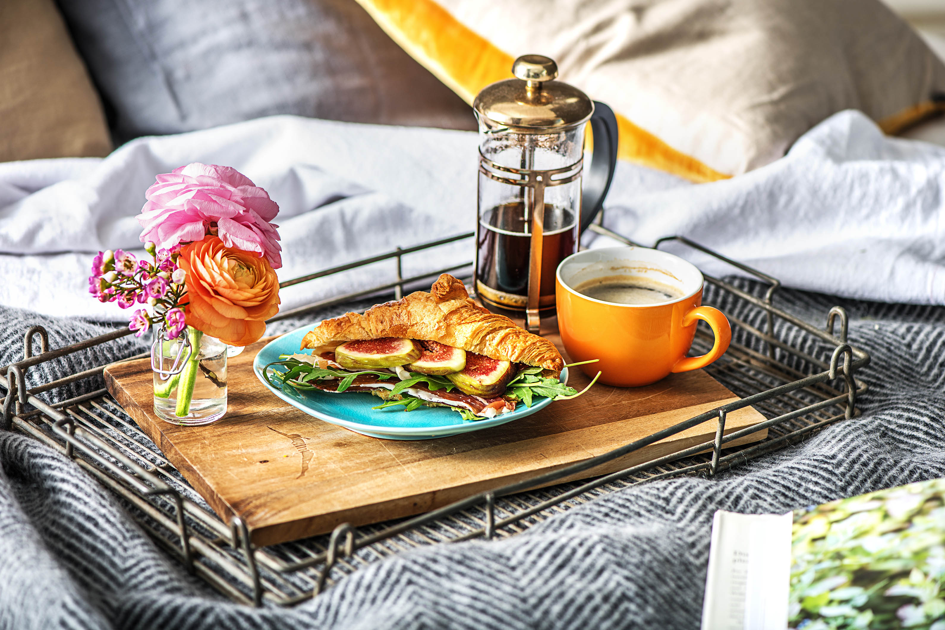 Image result for breakfast in bed