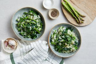 Our Favourite Springtime Vegan Risotto