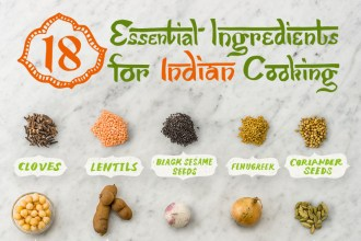 18 Essential Ingredients for Indian Cooking