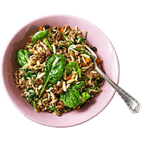 Mediterranean Lamb Hashweh Rice with Almonds