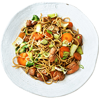 Tasty Teriyaki Chicken with Hokkien Noodles