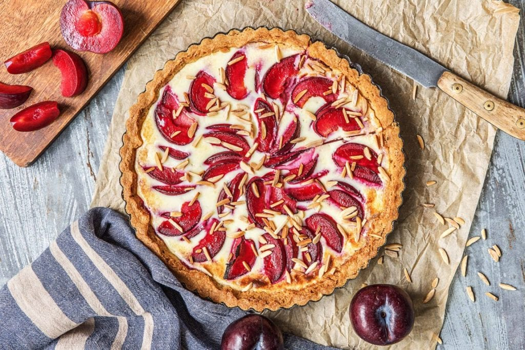 Almond Plum Tart